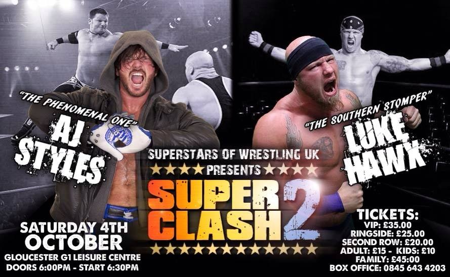 AJ Styles on SuperClash 2