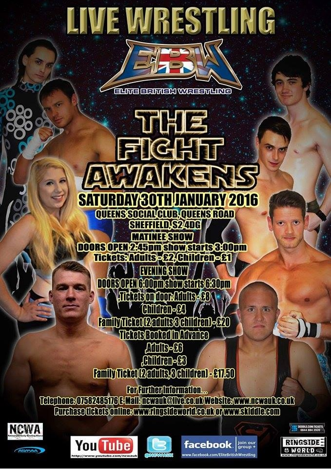 Elite British Wrestling presents... The Fight Awakens