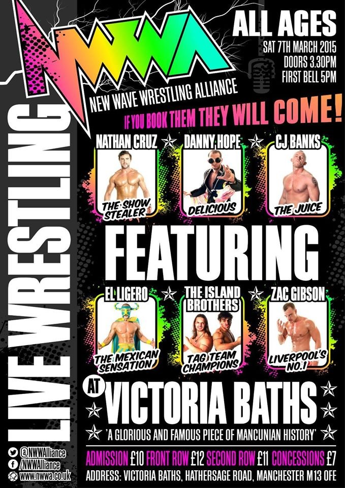 NWWA - Full Match Card, If You Book Them They Will Come!
