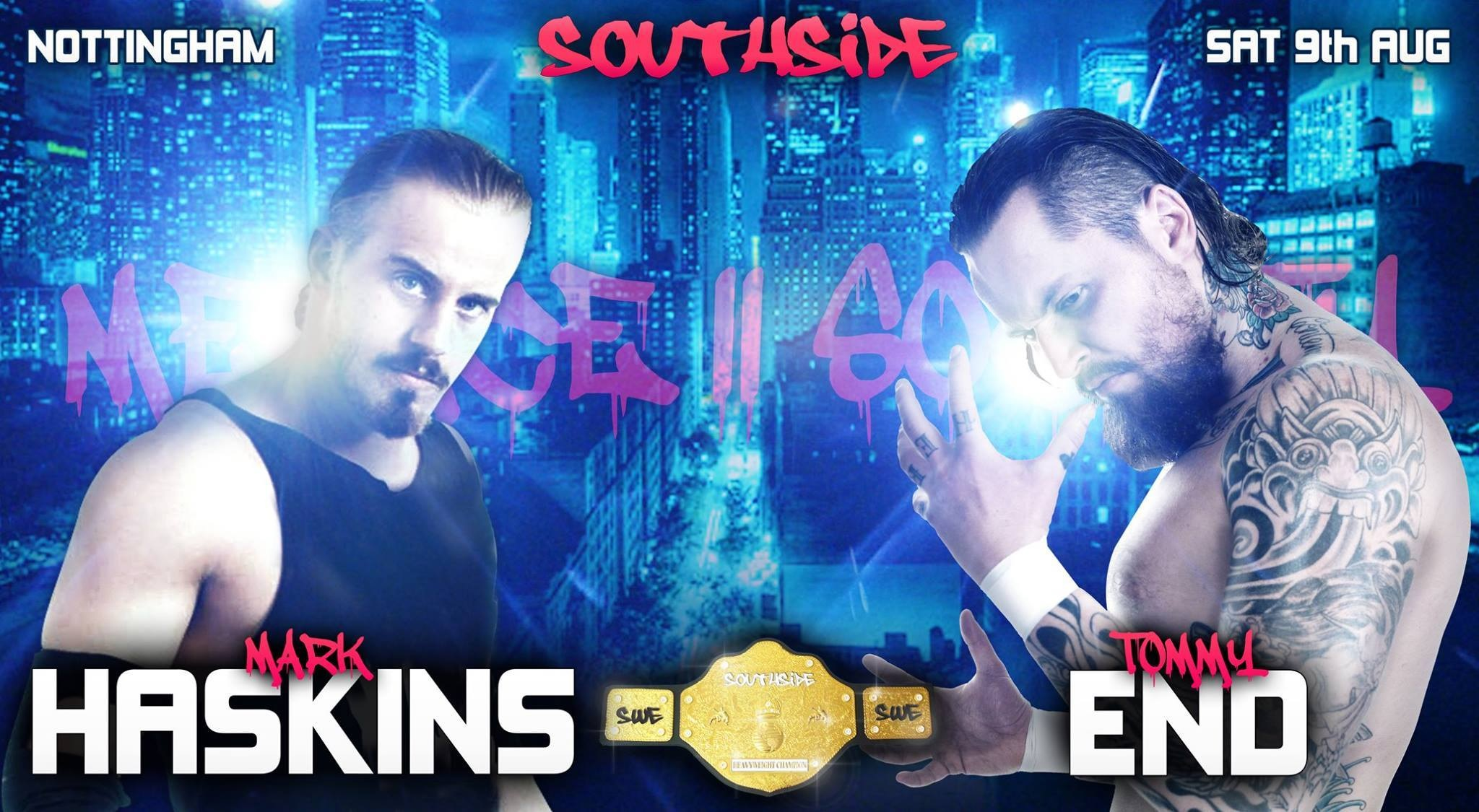 Tommy End v Mark Haskins promo video for the rematch on the 9th August.