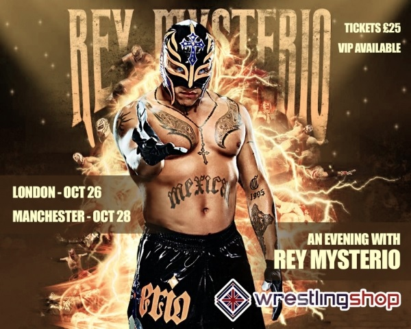 Rey Mysterio Live in London Piccadilly Theatre, Oct 26, 2015 - UK Tour
