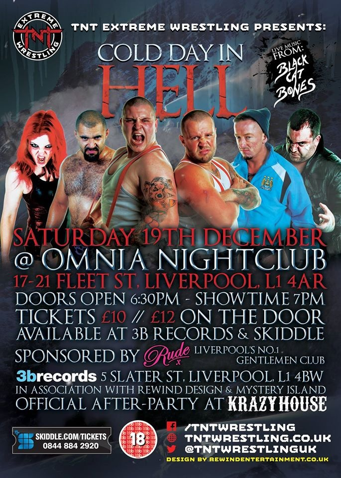 TNT Extreme Wrestling presents COLD DAY IN HELL 2015