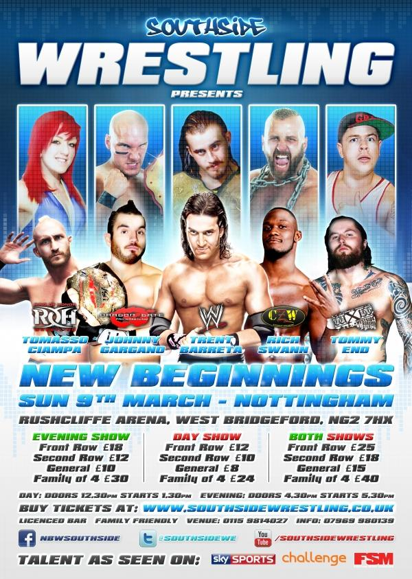 TOMMASO CIAMPA is coming to Southside, in Nottingham!