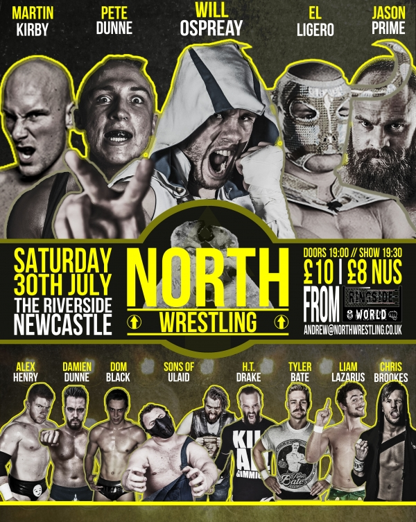 NORTH Wrestling//NCL.1/BRACE YOURSELF *FULL SHOW*