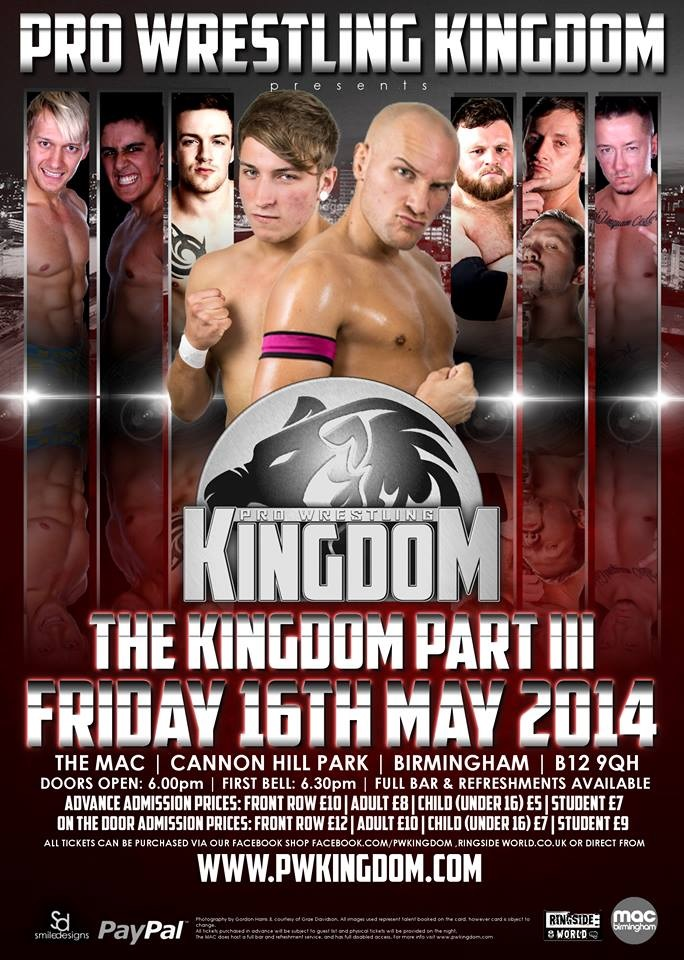Pro Wrestling Kingdom – Road To The Golden Kingdom – Four-Way Tag Team Elimination – Eddie Dennis & Kev Dunphy vs Marshall X & Corey Johnson vs Chris Brookes & Dan Moloney vs The Hunter Brothers