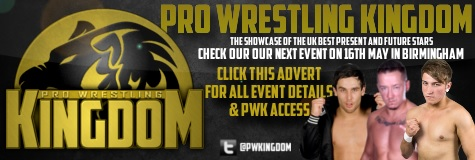 Pro Wrestling Kingdom – Part IIII: Consurgo – Pete Dunne vs Uhaa Nation vs Mark Andrews