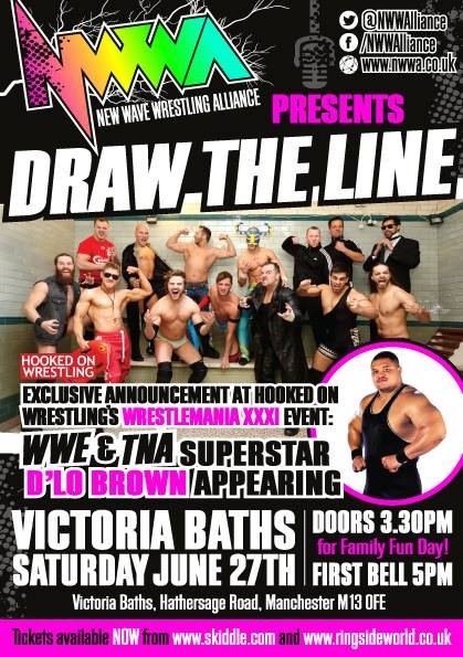 Main Event Confirmed For New Wave Wrestling Alliance 'Draw The Line'