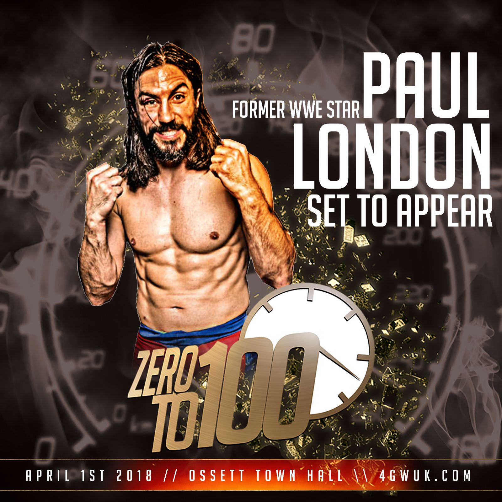 Paul London is Coming - past event video