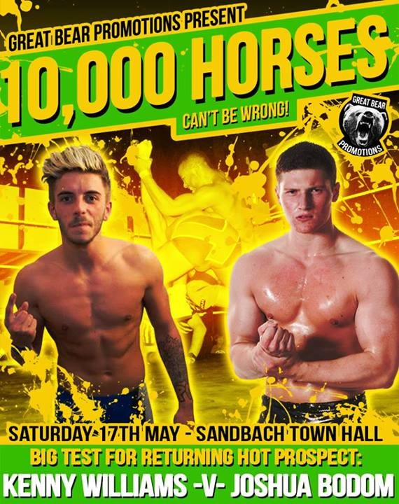 Great Bear Promotions – 10,000 Horses Can't Be Wrong! – Kenny Williams vs Joshua Bodom