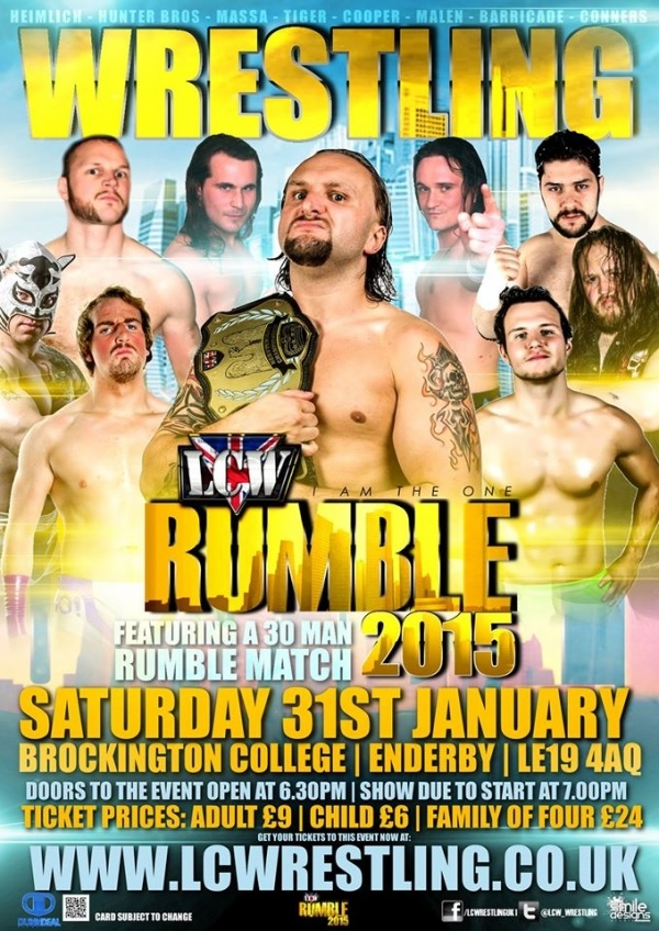 LCW Rumble Match 2014