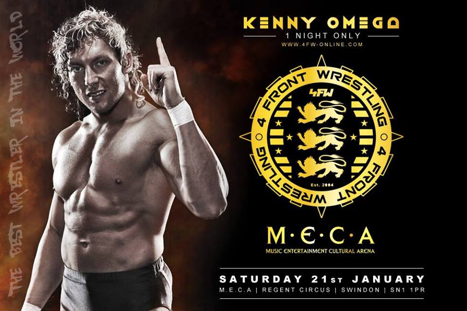 Kenny Omega V Tiger Ali - 4FW New Years Wrestleution 2017