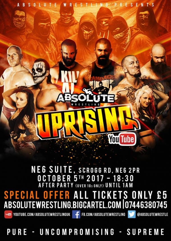 Absolute Wrestling Uprising – Series One, Episode Three