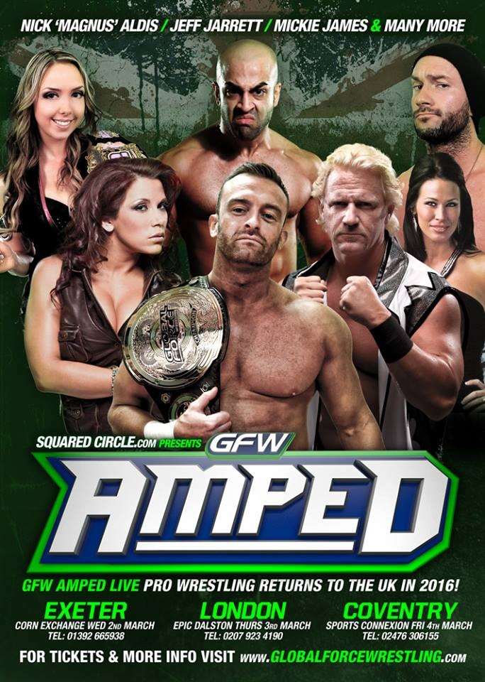 GFW RETURNS TO THE UK