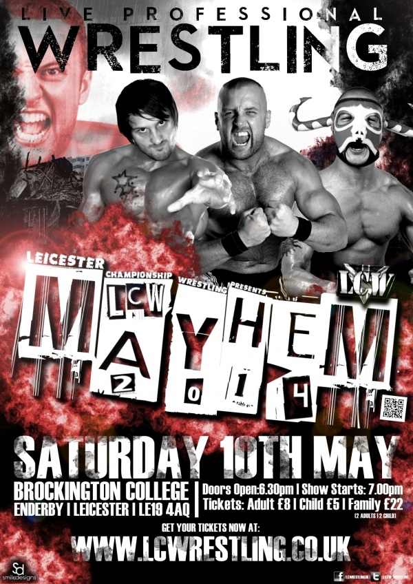 LCW Mayhem '13 Main Event - Stixx vs Marty Scurll vs L.J Heron