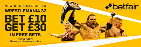 Ringside World - Betfair Wrestlemania banner - small