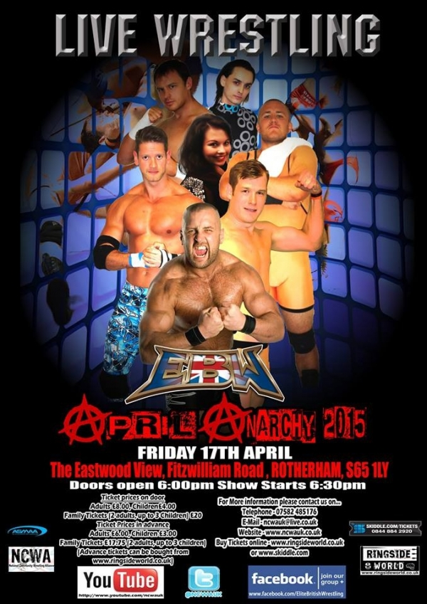 Elite British Wrestling Presents April Anarchy 2015