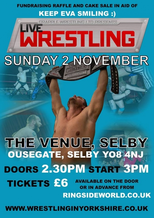 Grapple Wrestling Live In Selby