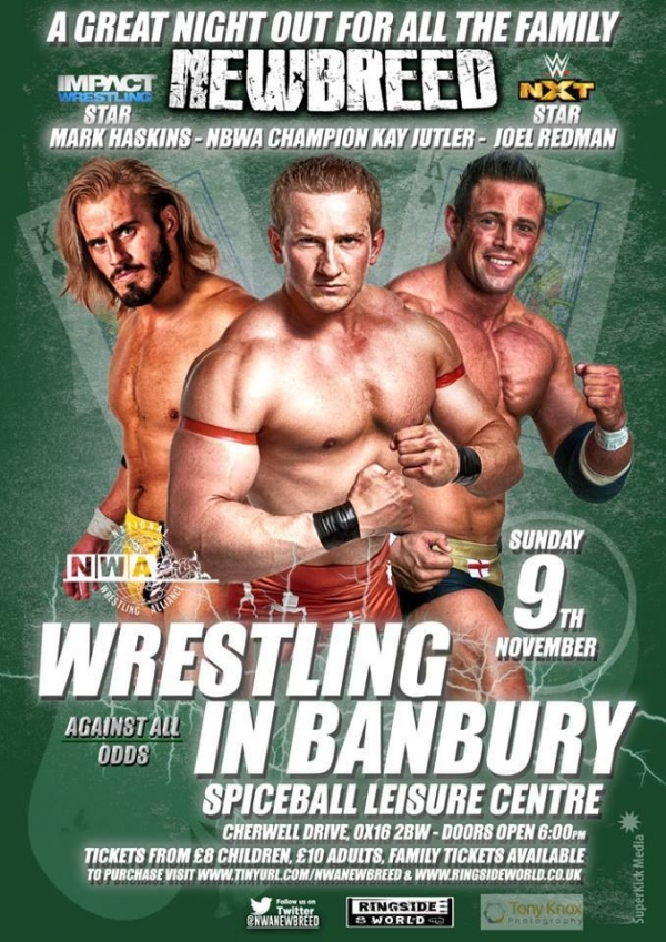 NWA: New Breed Wrestling presents: Against All Odds