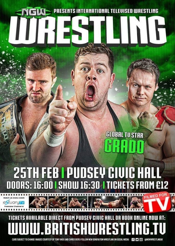 NGW Live In Pudsey 2018 taking place at Pudsey Civic Hall