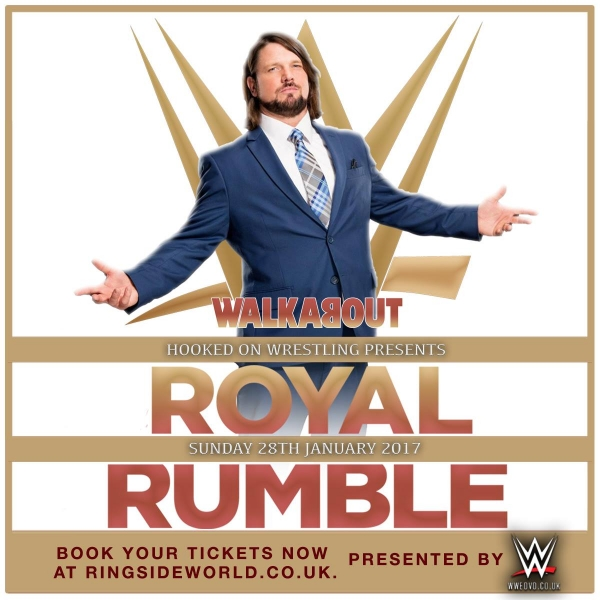 A Hooked On Event: SHEFFIELD WWE Royal Rumble Viewing Party