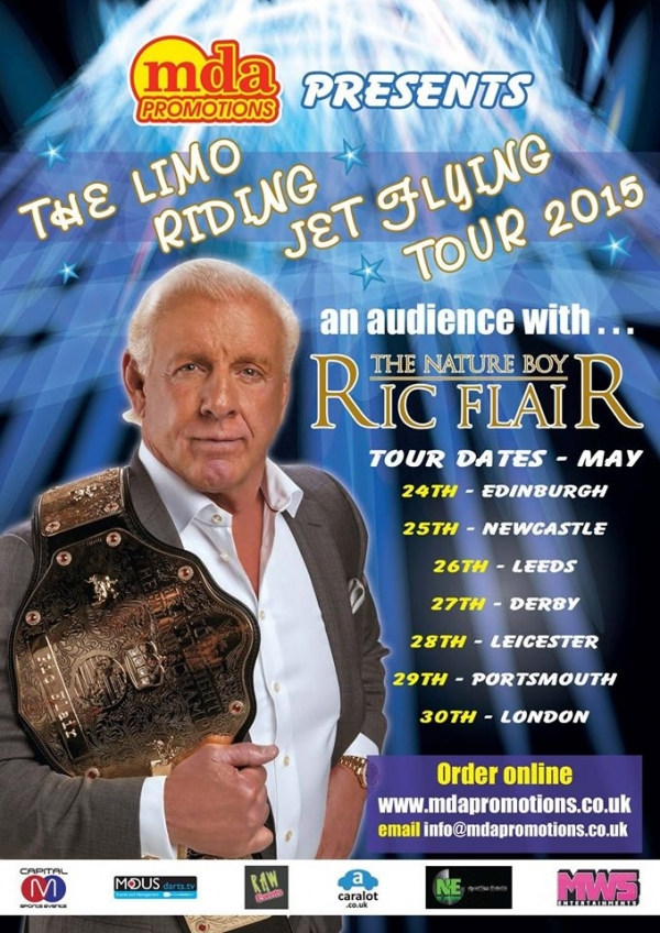 An Audience With Ric Flair - Portsmouth