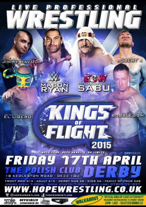 HOPE Wrestling presents The First Annual Kings Of Flight Tournament