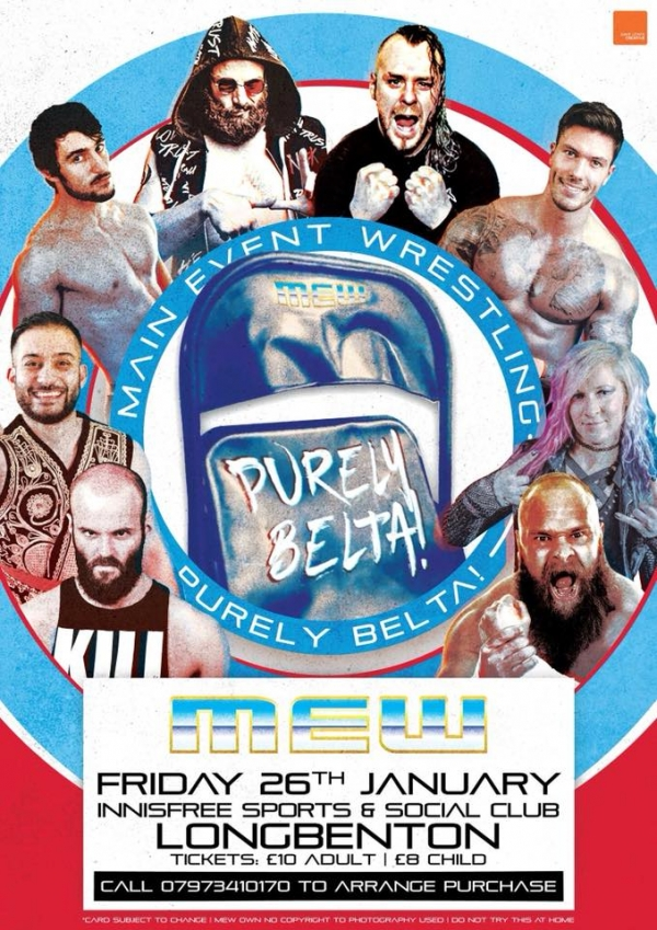 Main Event Wrestling Presents Purely Belta