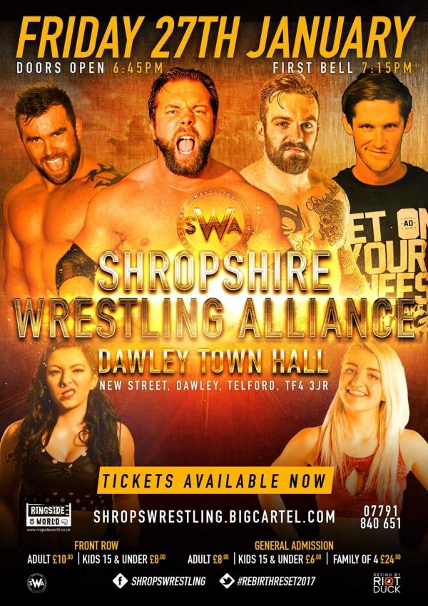 Shropshire Wrestling Alliance Presents: Rebirth