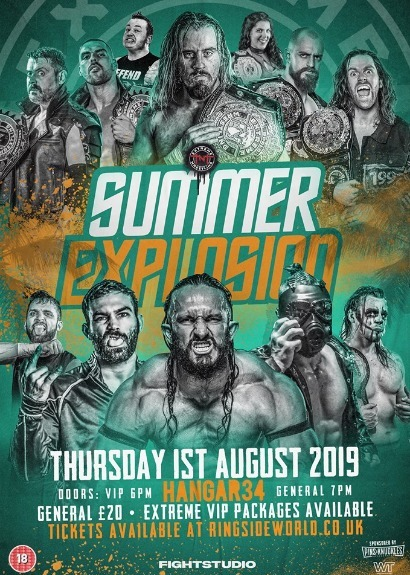TNT Extreme Wrestling Presents Summer Explosion 2019
