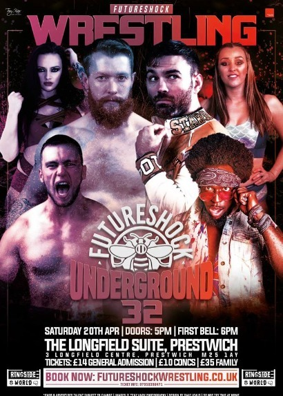 FutureShock Underground 32 - Prestwich, Manchester featuring the return of David Starr. taking place at The Longfield Suite